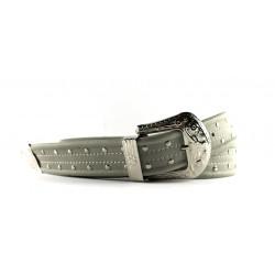 Cintura Indianina 4cm Grigio Perla