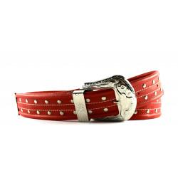 Cintura Indianina 4cm Rossa