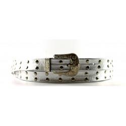Cintura Indianina 2cm Plata (double vuelta)