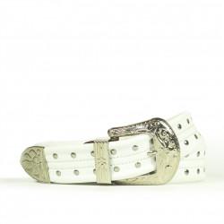 Cintura Indianina 4cm Blanco