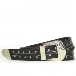 Cintura Indianina 4cm Negro