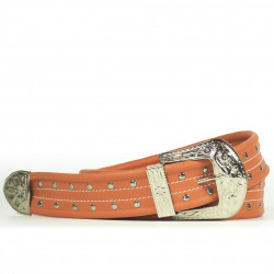 Cintura Indianina 4cm Salmón
