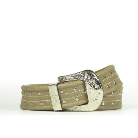 Cintura Indianina 4cm Tortora