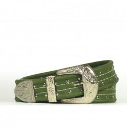Cintura Indianina 4cm Verde