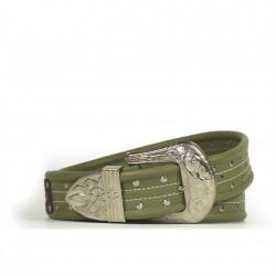 Cintura Indianina 4cm Verde Pistacchio