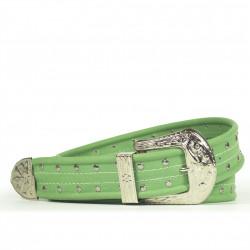 Cintura Indianina 4cm Verde Menta