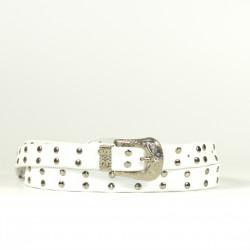 Cintura Indianina 2cm Blanco (doble vuelta)