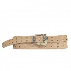 Cintura Indianina 2cm Rosa Palo