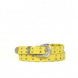 Cintura Indianina 2cm Amarillo (doble vuelta)