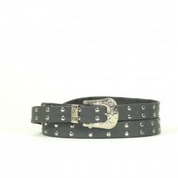 Cintura Indianina 2cm Gris (doble vuelta)