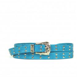 Cintura Indianina 2cm Azul (doble vuelta)