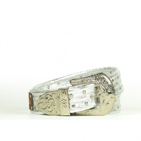 Silver Cintura Indianina 4cm